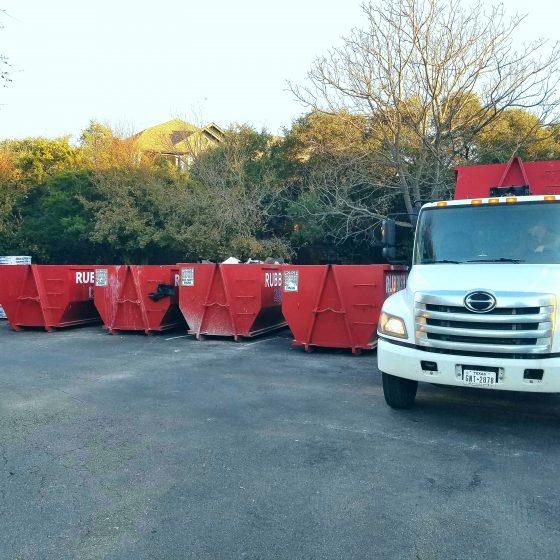 1 Roll Off Dumpster Rentals In Austin Tx Rubbish Inc