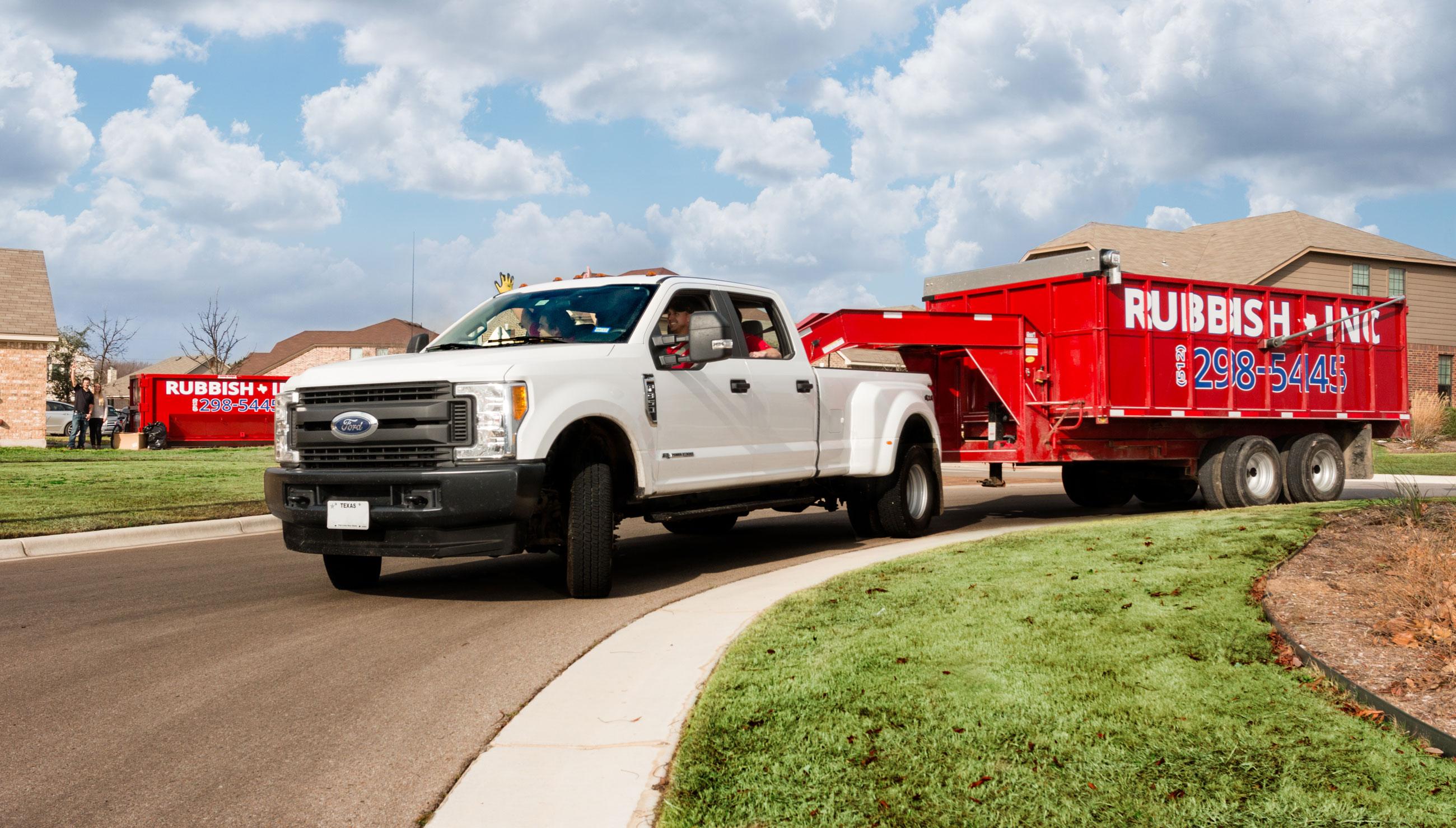 1 Junk Removal Company In Austin Texas Rubbish Inc